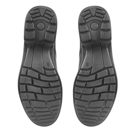 sole of shoe isolated on white background photo