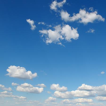 rainclouds: white cloud on blue sky