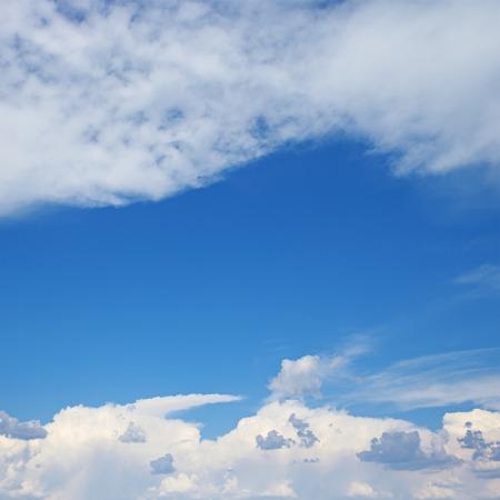 rainclouds: white clouds in the blue sky