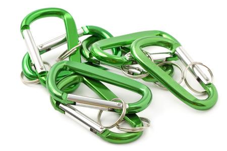 key chain: key ring isolated on white background