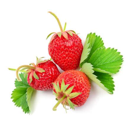 strawberry: strawberry isolated on white background