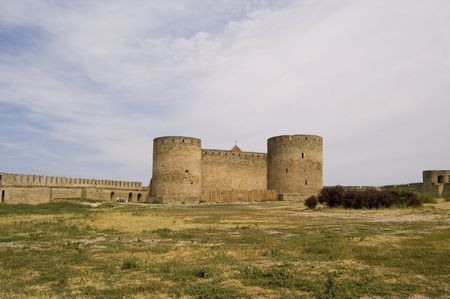 feudalism: fortress Akkerman, city Belgorod-Dnestrovskiy, Ukraine, Europe Stock Photo