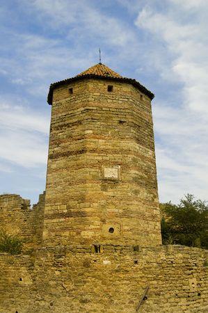 impregnable: fortress Akkerman, city Belgorod-Dnestrovskiy, Ukraine, Europe Stock Photo
