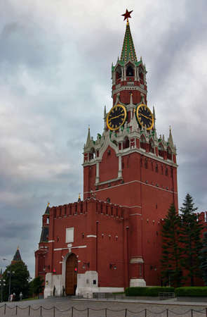 Moscow kremlin, tower, chimes photo