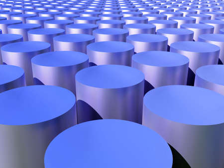 reactor: abstract cylinders and their reflections