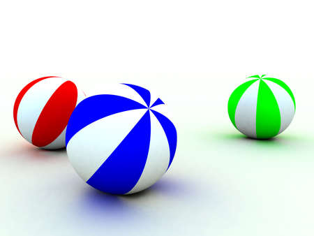 soft toy: varicoloured childs balls for games outdoor