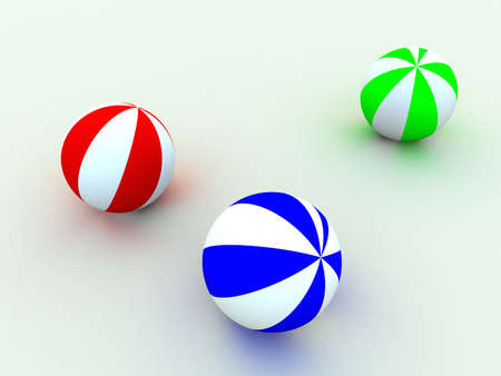 resilient: varicoloured childs balls for games outdoor