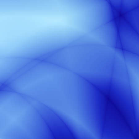 descriptive: abstract smoothed lines and gradients of blue color