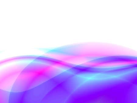 papel tapiz turquesa: resumen olas, la desbordante tonos de color azul sobre fondo blanco  Foto de archivo