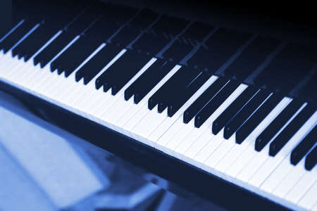 symphonic: White and black ������� a musical instrument - the piano Stock Photo