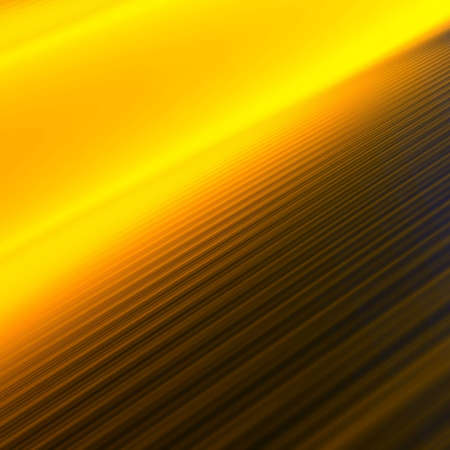 girders: Parallel orange-yellow lines leaving in a distance and creating perspective Stock Photo