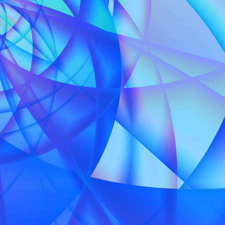 abstract smoothed lines and gradients of blue color Stock Photo - 3552993
