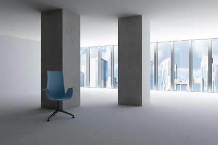 empty hall of modern business office with light from windows Stock Photo - 5571363