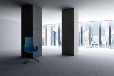 empty hall of modern business office with light from windows Stock Photo - 6532260