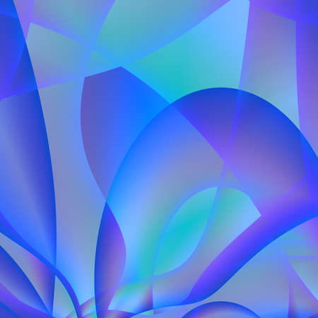 abstract purple violet and blue patterns and waves photo