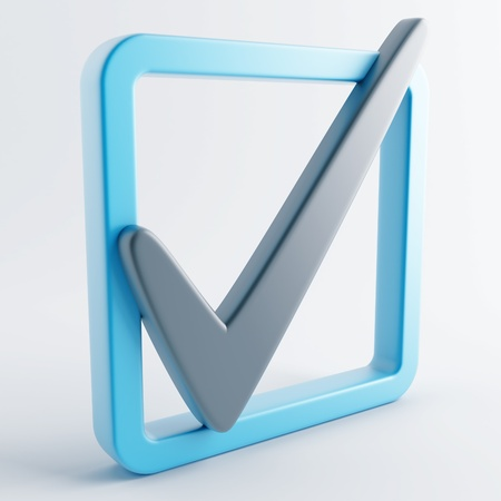 Icon in gray-blue color on a white background Stock Photo