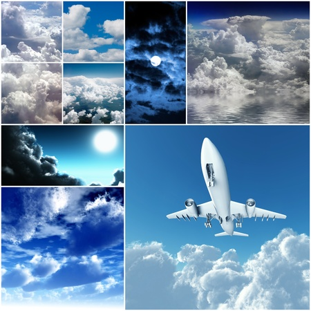 different day and night clouds and skies Stock Photo - 12231793