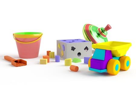 juguetes de madera: divertidos los ni�os de color