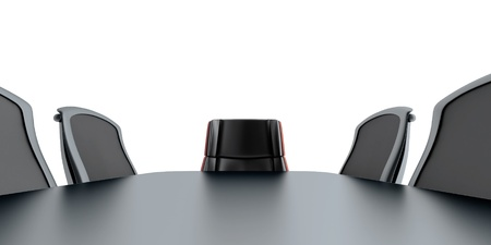 conference room table: table and chairs in modern meeting room