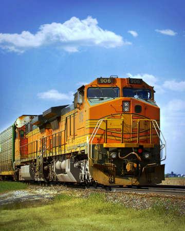 frieght train photo