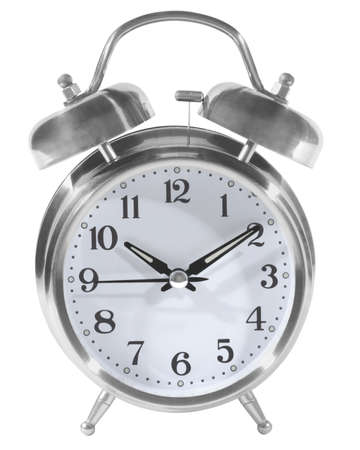seconds: clock front, outlined Stock Photo