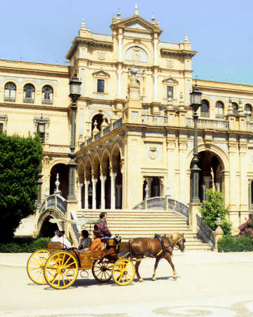 sevilla: Sevilla Spanje Stockfoto