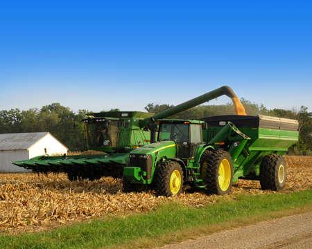 combine harvester: my tractors sexy Editorial