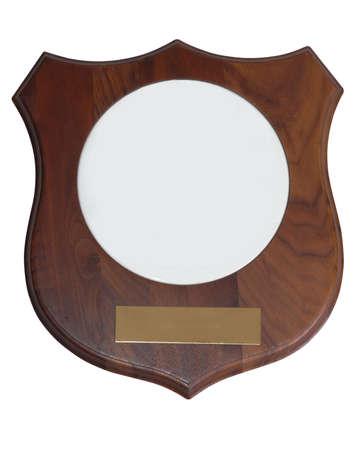 award plaque photo