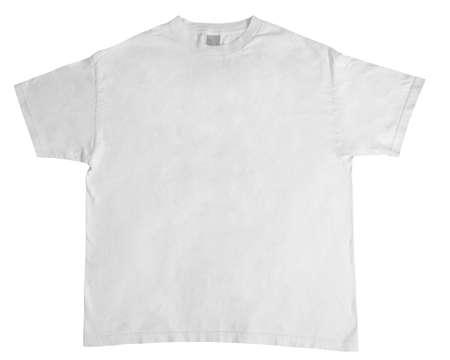 undergarment: white shirt Stock Photo
