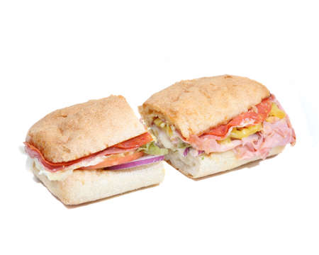 sandwitch: whole sandwich Stock Photo