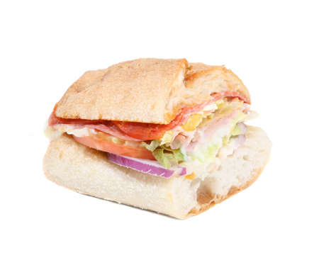 sandwitch: half sandwich