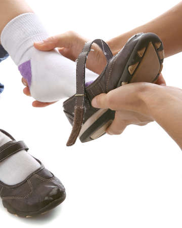 endings: shoe on Stock Photo