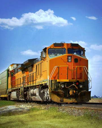 ferrocarril: tren de carga