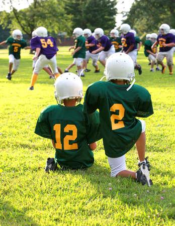 football tackle: youth football