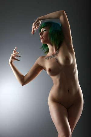 artistic nude: artistic nude