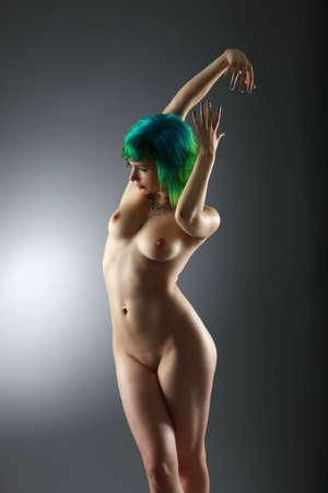 desnudo artistico: desnudo art�stico Foto de archivo