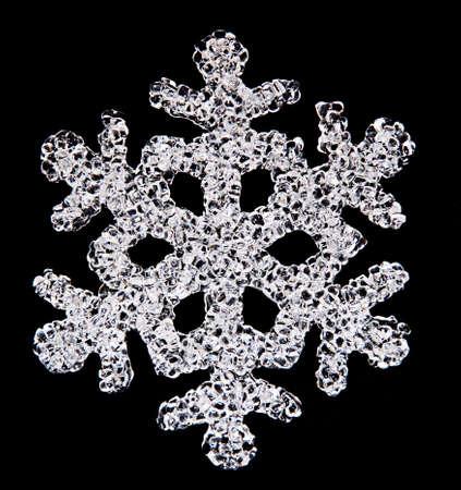 iceflower: fiocco di neve Archivio Fotografico