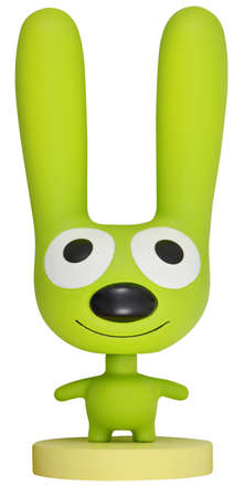 hallmark: Galesburg Illinois, July 7,2011: Hallmark mascot, Hoops isolated Editorial