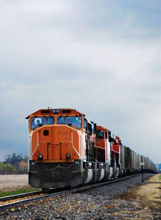 pociąg: pociÄ…g towarowy Zdjęcie Seryjne