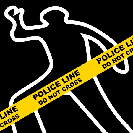 crime scene: Crime scene