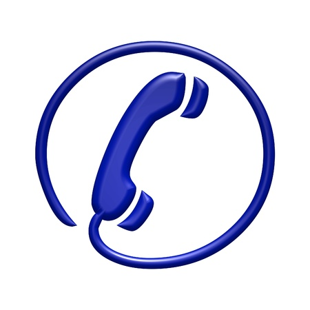 communication tools: Telephone sign