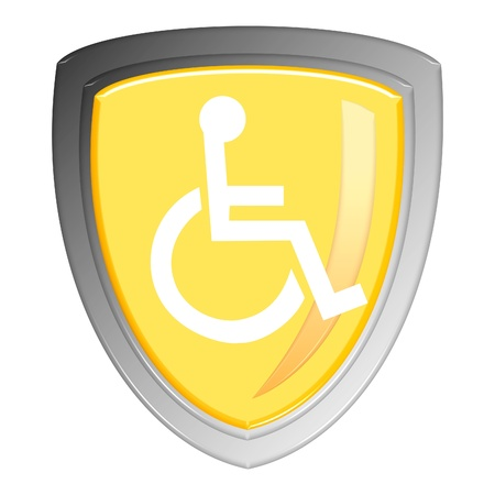 Disabled sign Stock Photo - 12221364
