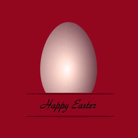 easter egg on pink background   photo