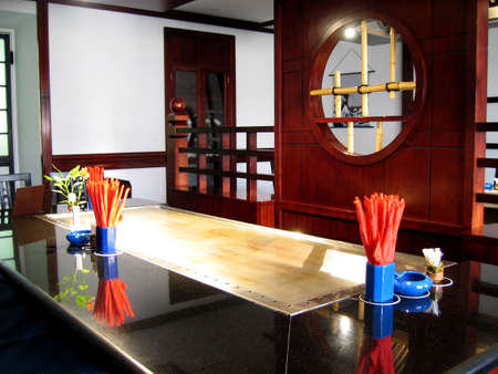 Japanese restaurant Stock Photo - 369806