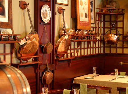 bar ware: Restaurant interior