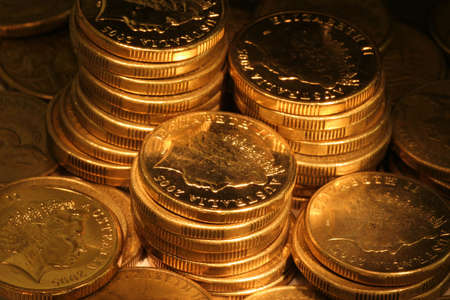 nonspecific: Golden coins