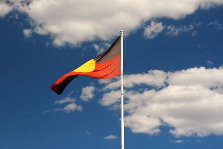 aborigines: Aboriginal flag