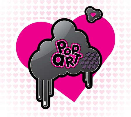 Vector Pop Art illustration Vector