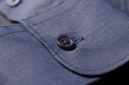 cuff: Cuff and a button Stock Photo