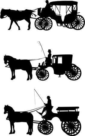 carriage: trasporto illustrazione